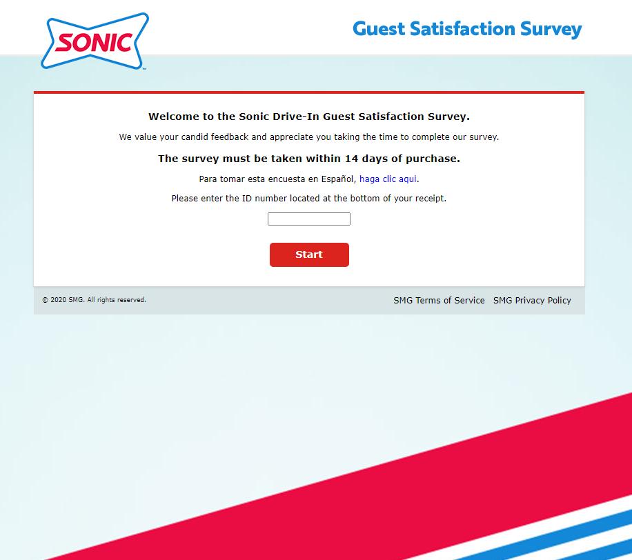 TalktoSonic - Win Free Route 44 Drink - Sonic Survey