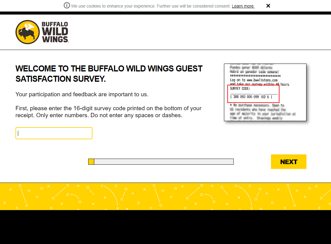 Bwwlistens.com - Official Buffalo Wild Wings Survey to Get $5