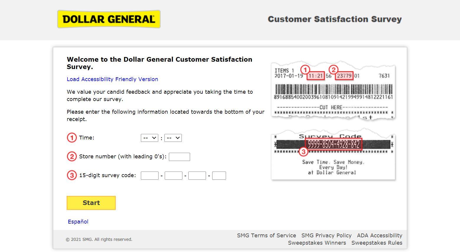 Dgcustomerfirst.com - Dollar General Survey to Win $100 Gift Card