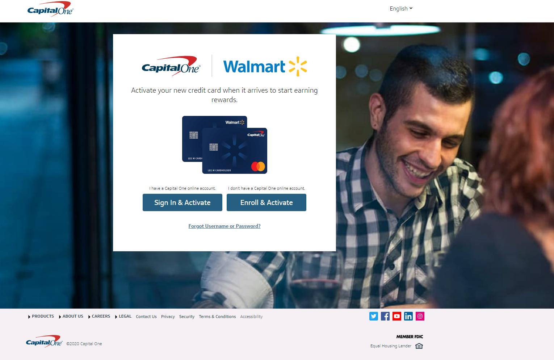 Walmart.Capitalone.com/Activate - Activate Walmart Credit Card Rewards